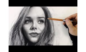 Draw A Realistic Portrait With Pencils