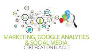 Marketing, Google Analytics and Social Media Training Bundle